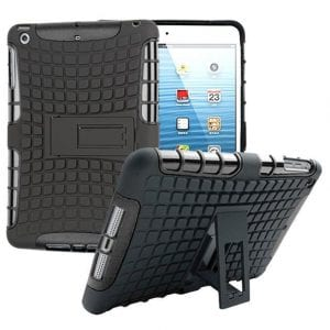 iPad Mini Heavy Duty Impact Hybrid Armor Kick stand Hard Case